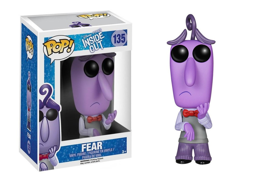 FUNKO POP FEAR #135 INSIDE OUT PIXAR