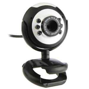 TECHMADE WEBCAM TM-C013 NERO