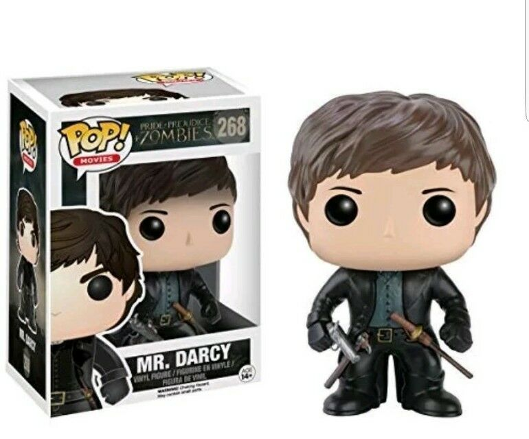FUNKO POP MR DARCY #268 PRIDE + PREJUDICE + ZOMBIES MOVIES SAM RILEY
