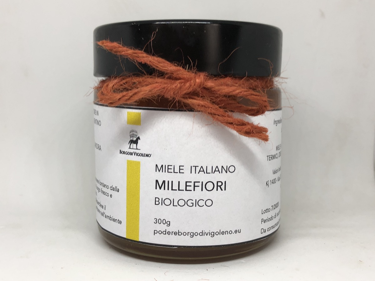 011 - Miele Millefiori Biologico (fine estate) 300g