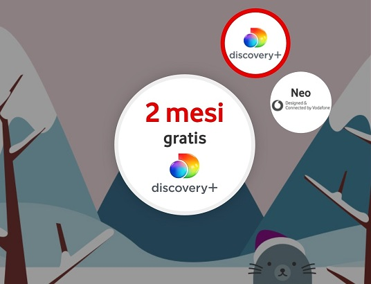 Happy Friday Vodafone Discovery+ Gratis