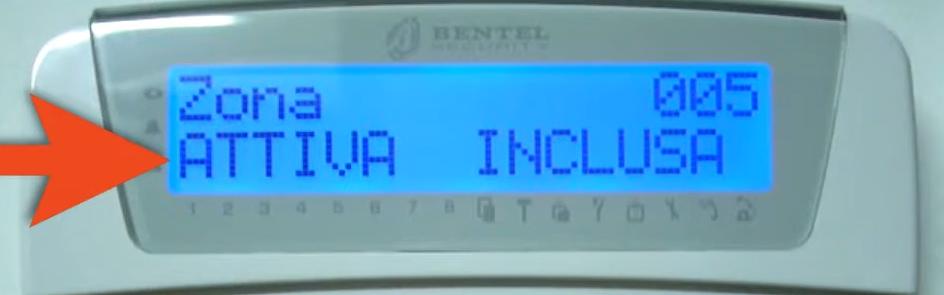 Verifica funzionamento dei componenti antifurto Bentel Absolutapng