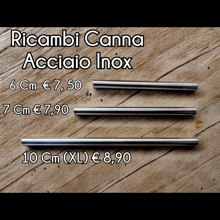Optional Canna Extra Acciaio Inox