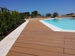 Decking Wpc bordo piscina