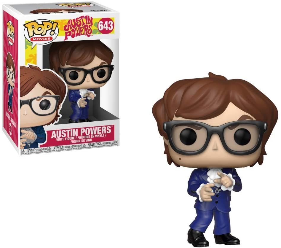 FUNKO POP AUSTIN POWERS #643 MOVIES