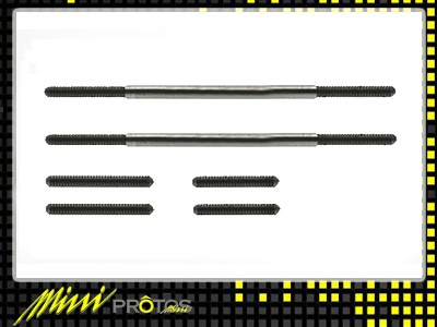 MSH41022 HEAD ROD SET MINI PROTOS 450