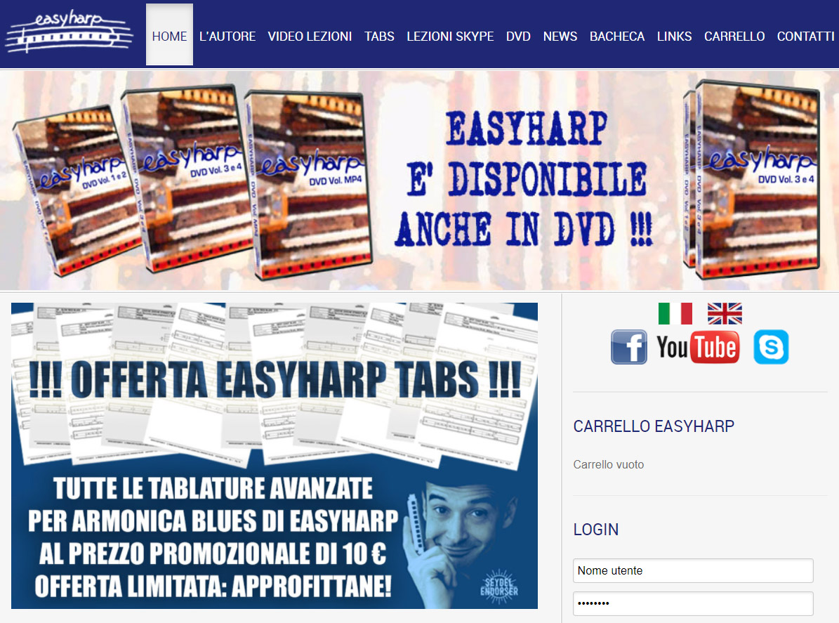 paolo demontis video corso armonica blues easyharp