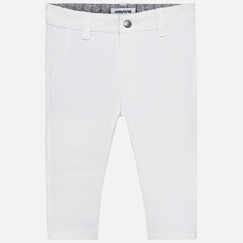 Pantalone chino slim fit bambino