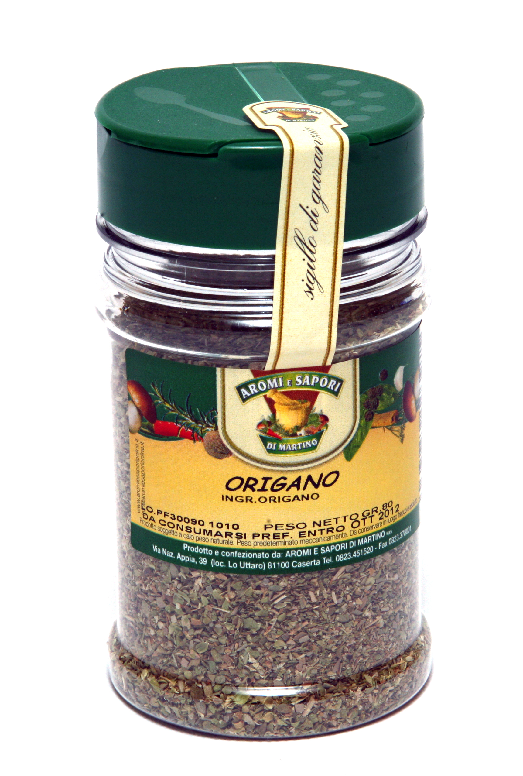 Italian Natural Product Oregano  Top Quality 60gr (2.11 oz). Imported from Italy