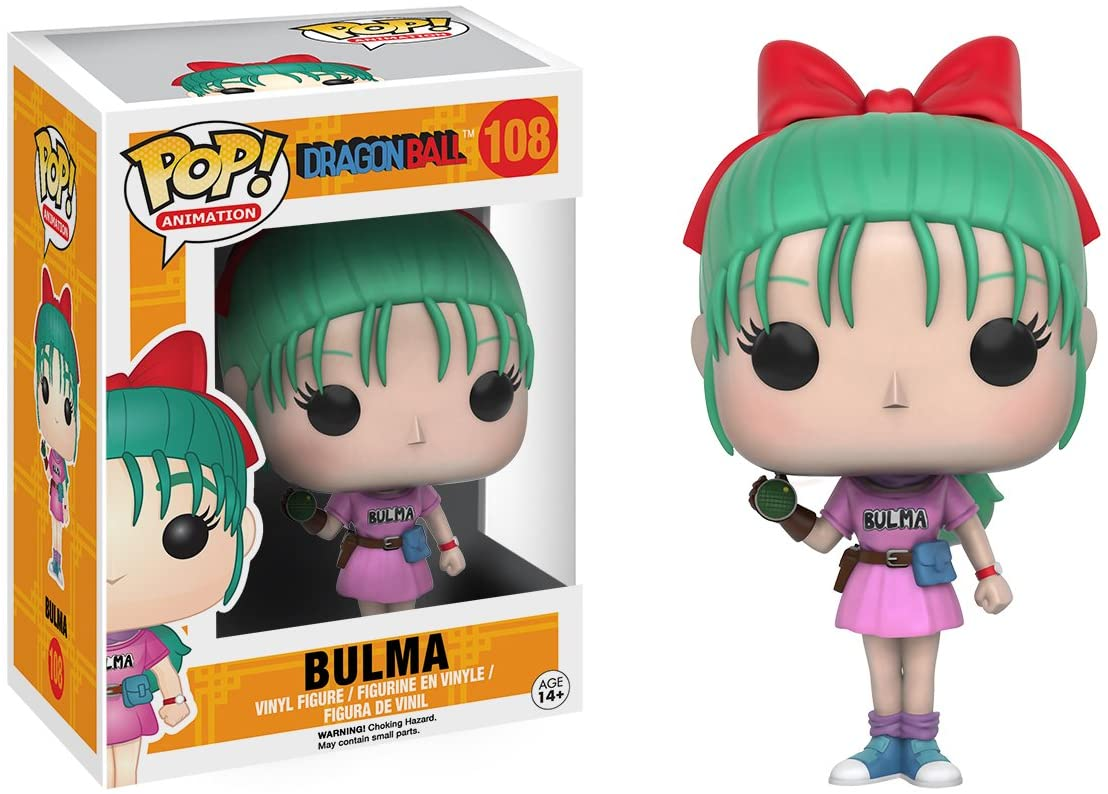 FUNKO POP BULMA #108 DRAGON BALL ANIMATION
