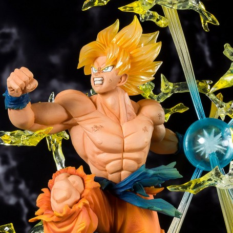 Super Saiyan Son Goku - Dragon Ball - Figuarts Zero - Bandai - Tamashi Nation