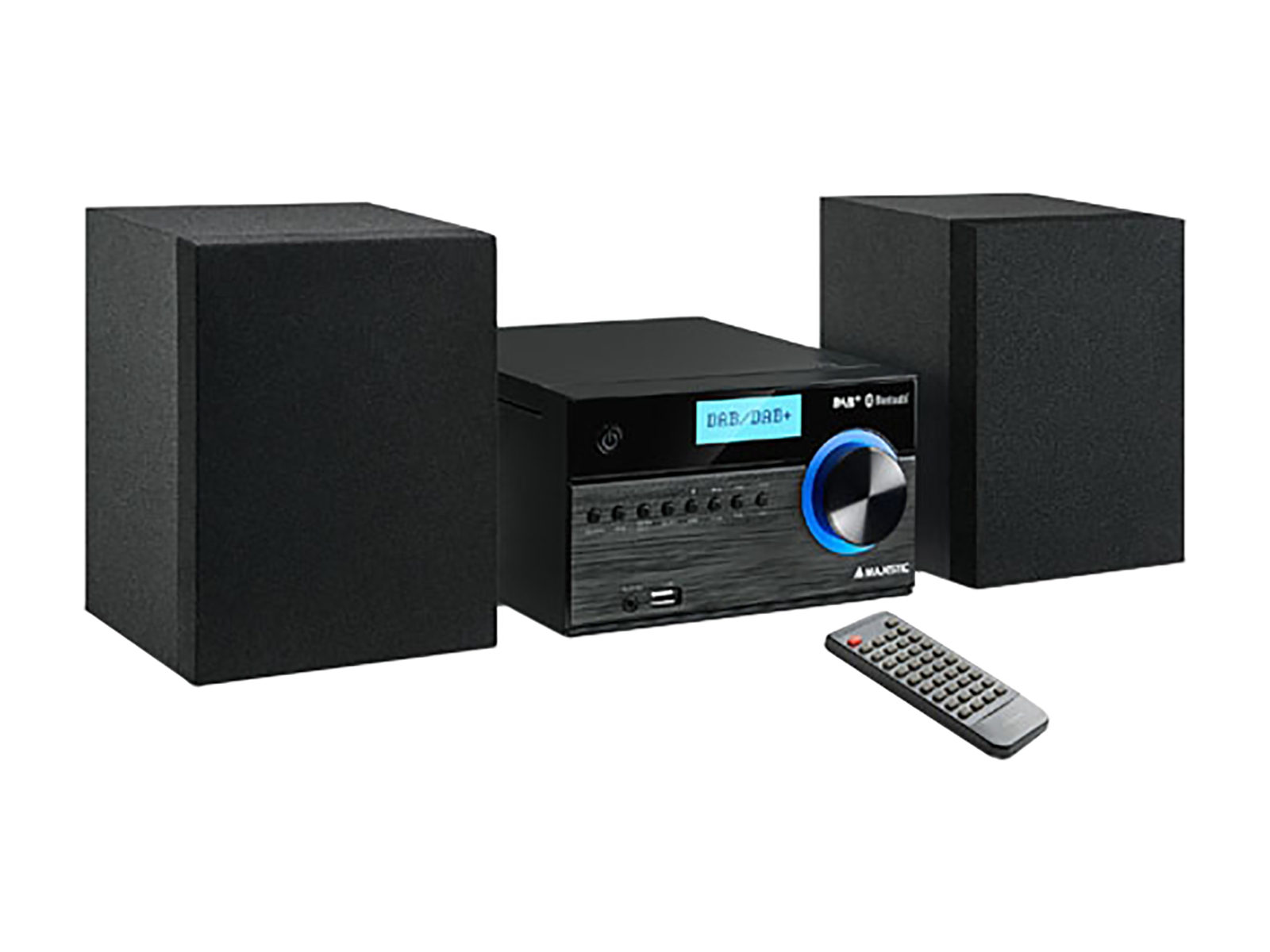 MAJESTIC MICRO HI-FI AH-2350 BT/MP3/USB/DAB+ BLACK