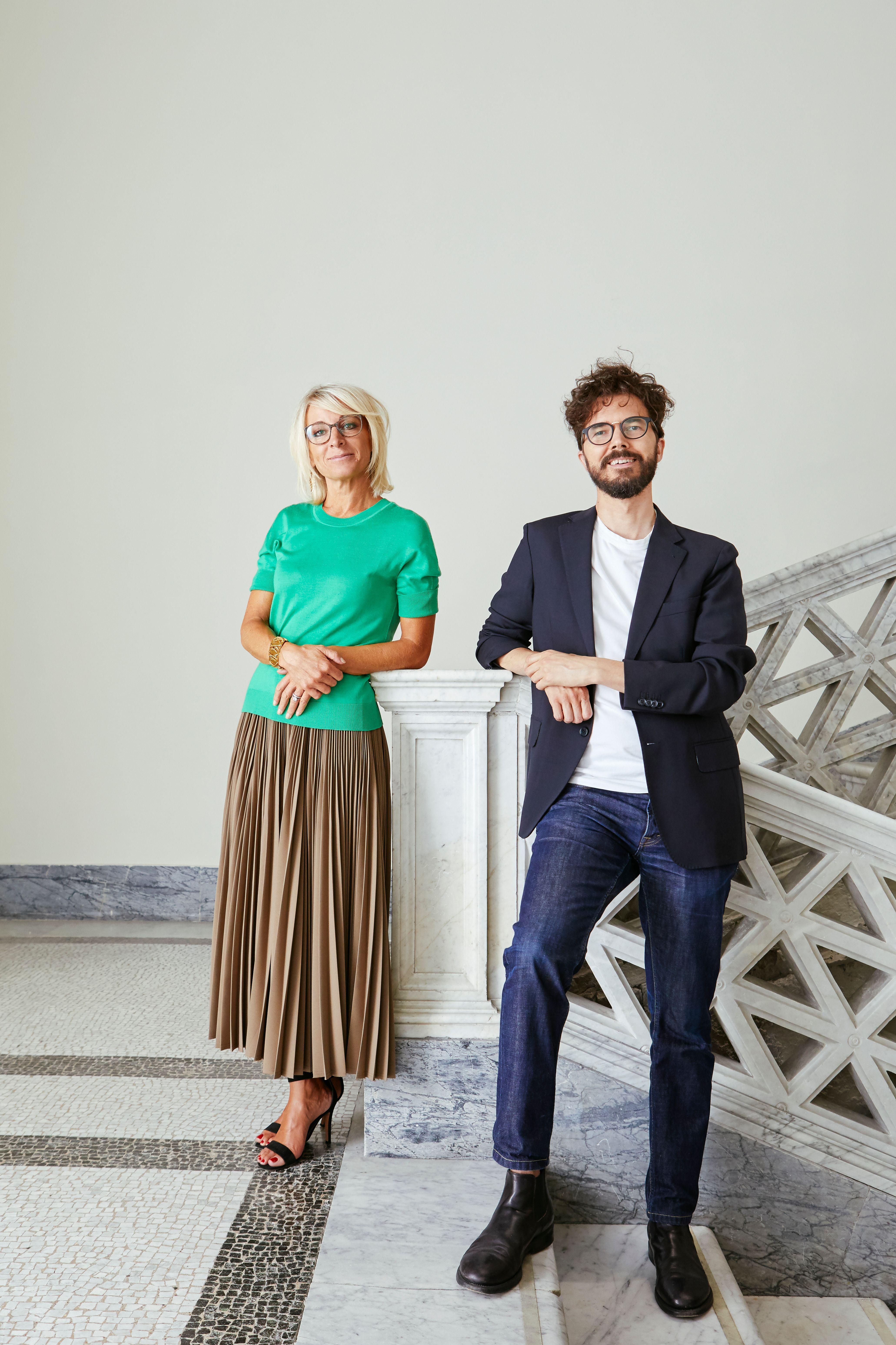 sarah Cosulich e Stefano Collicelli    foto di Alessandro cantarinijpeg