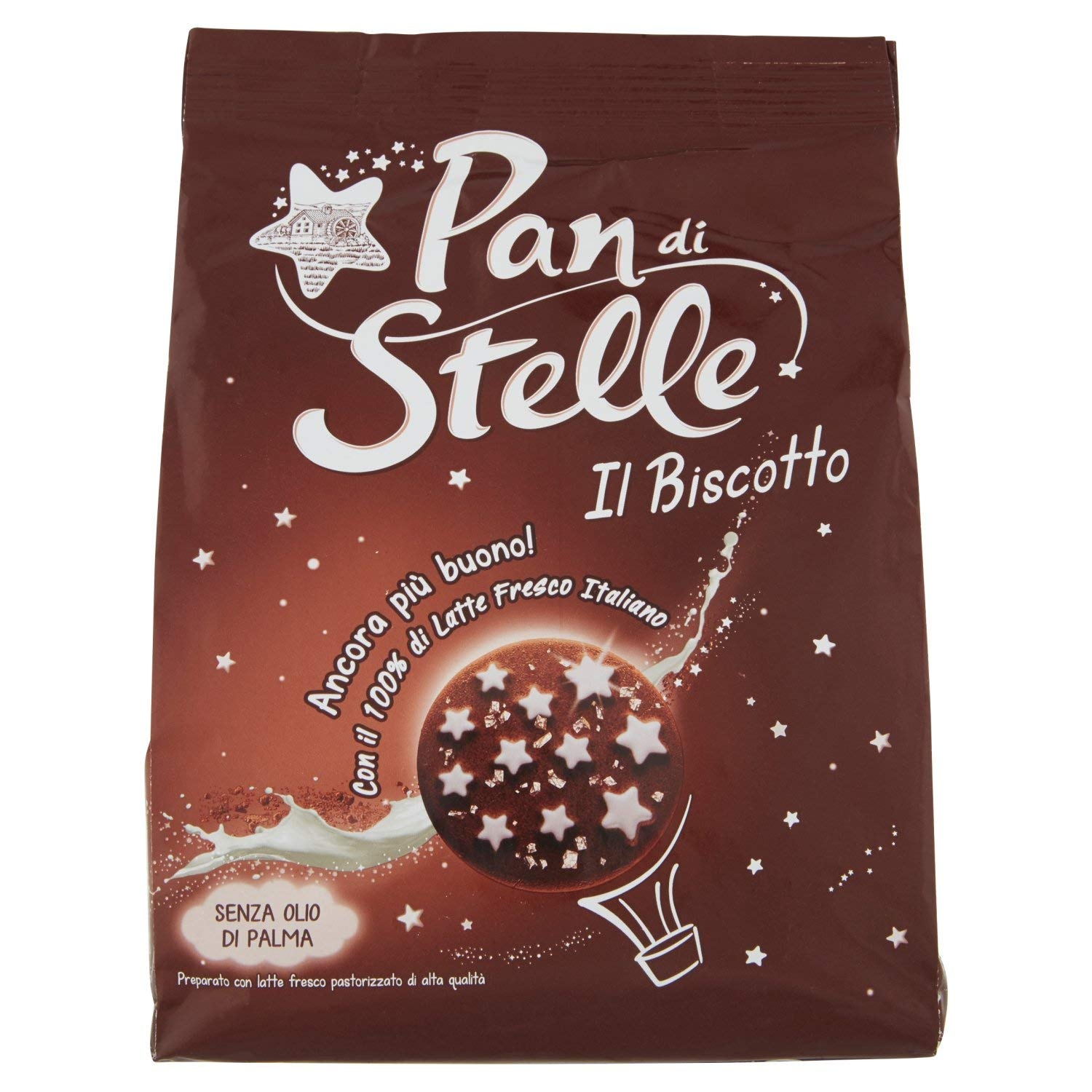 "Mulino Bianco Pan di Stelle cookie 350gr (12.34 oz) ""Imported from Italy"""