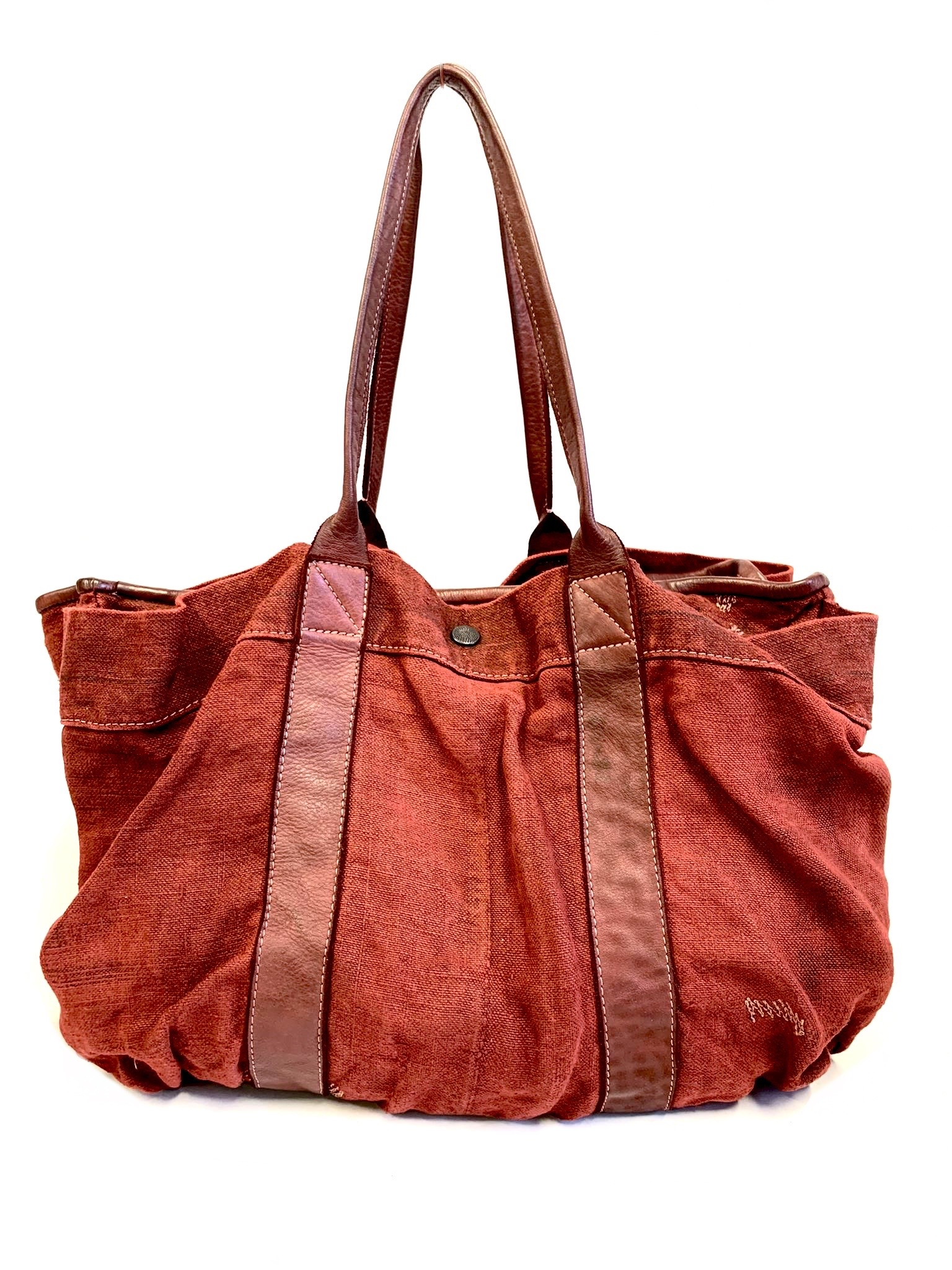 Distressed Tote Bag