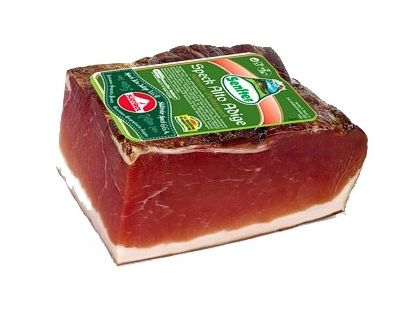 Speck Dry Cured Smoked Prosciutto Cold Cut 400gr (14.10) from Italy
