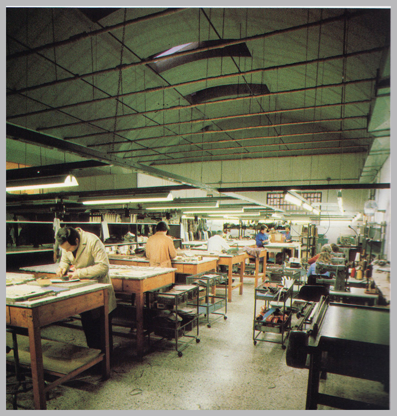 Flavi Vismano Factory in the 80's & 90's