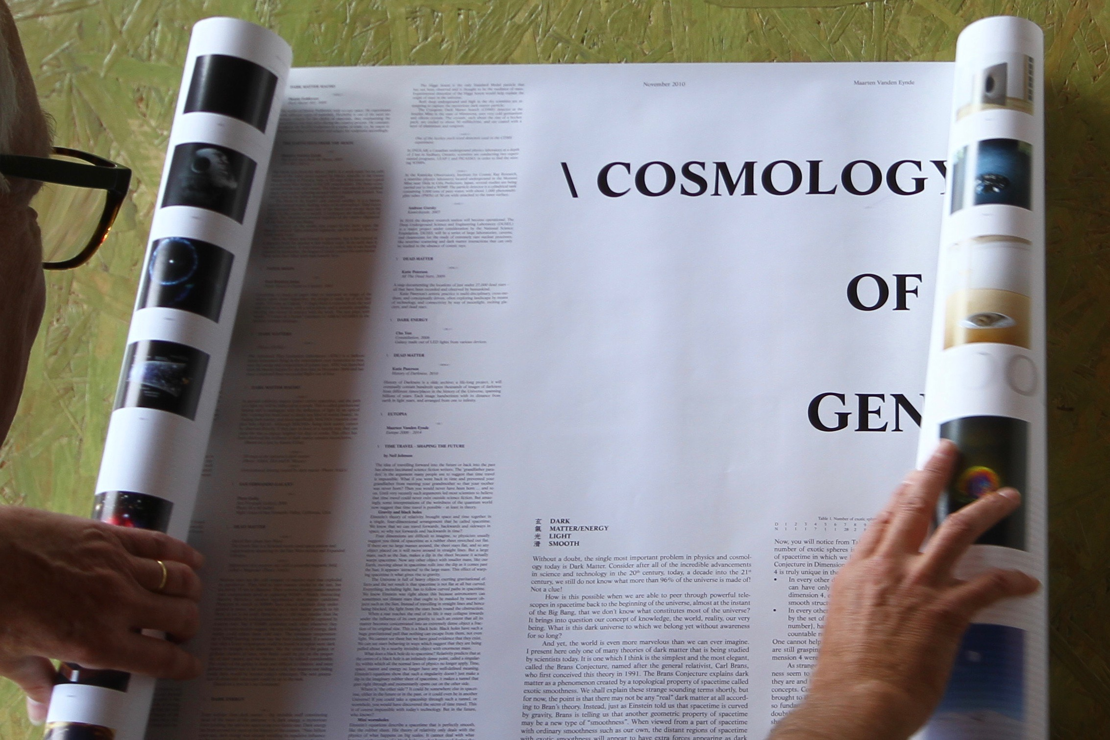 Nr. 63 - \ COSMOLOGY OF GENETOLOGY \ CG \ 1