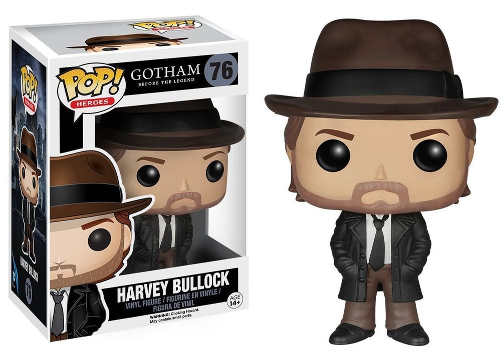 FUNKO POP HARVEY BULLOCK #76 GOTHAM