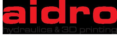 Logo aidro hydraulics 3D printingpng