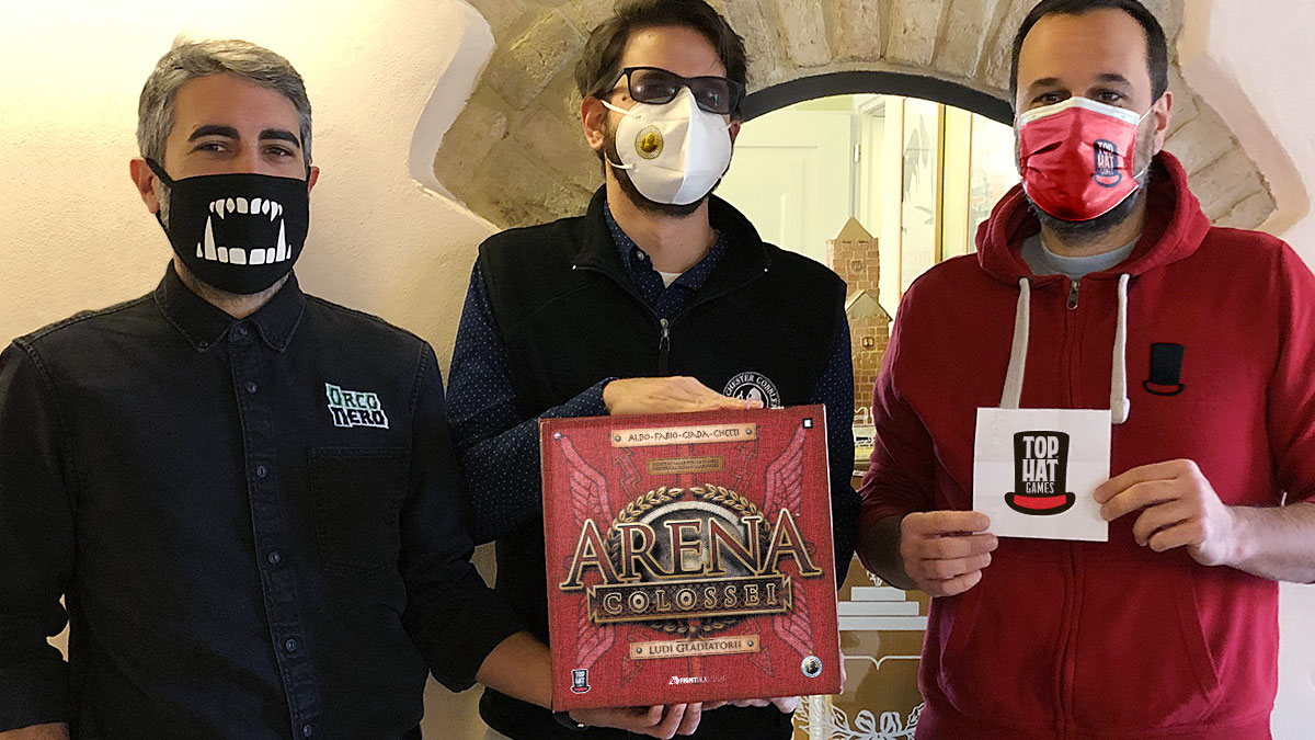 Preview: Arena Colossei la nuova campagna