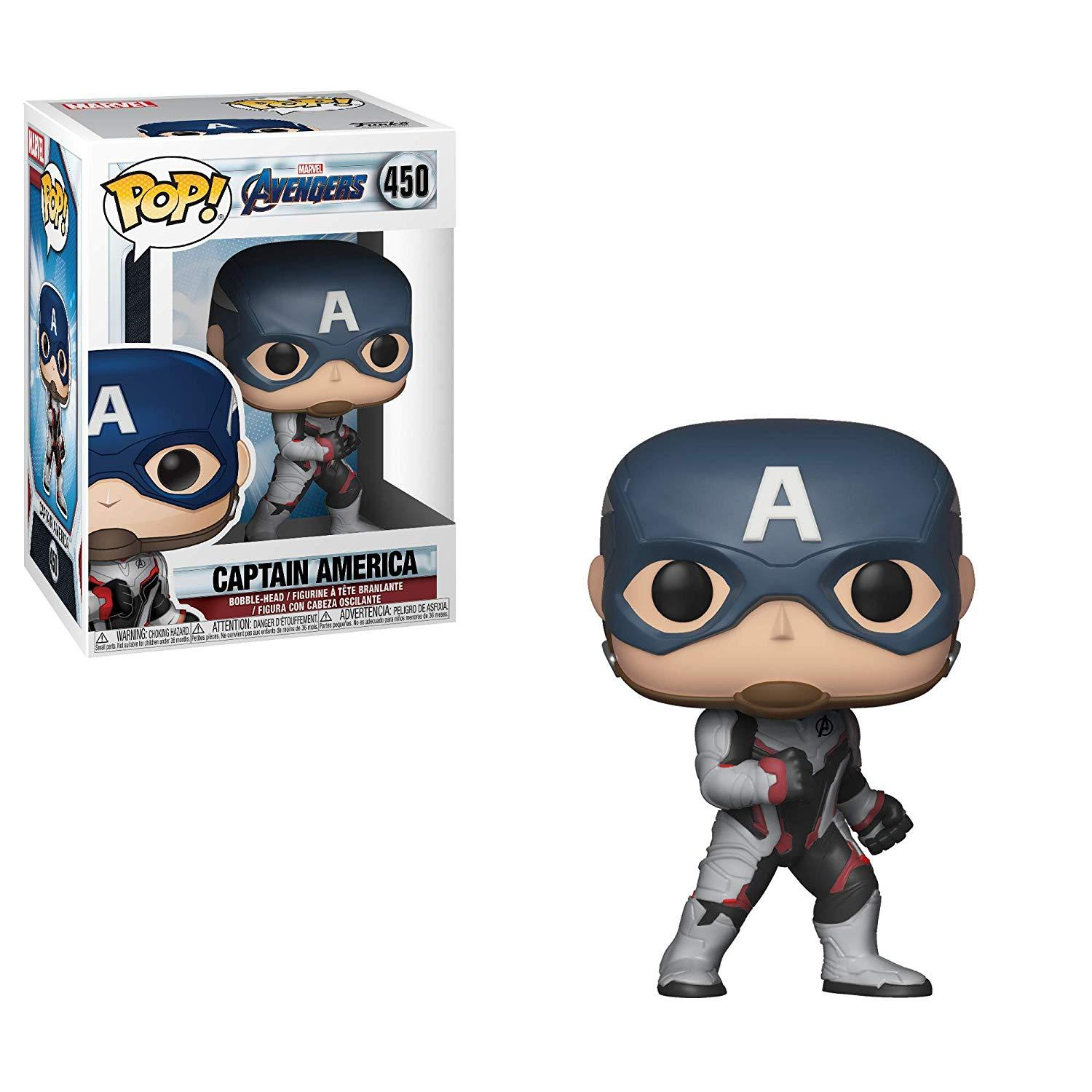 FUNKO POP CAPITAN AMERICA #450 END GAME