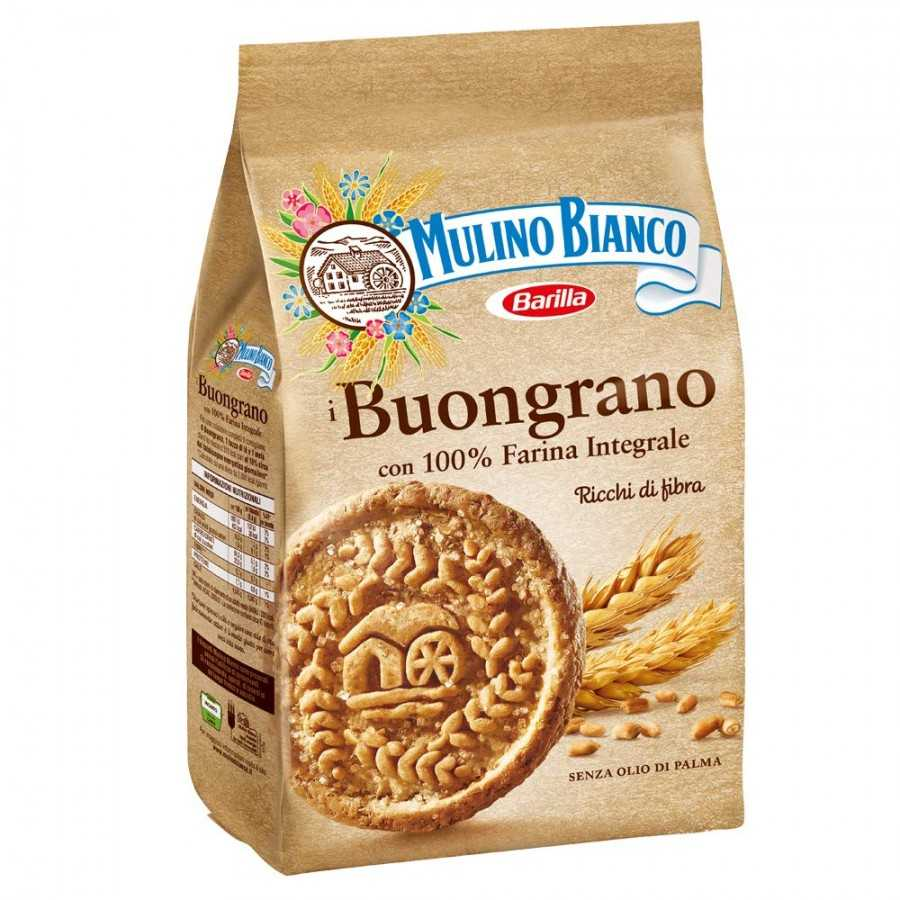"Buongrano Cookies 350gr (12.34oz)  by Mulino Bianco ""Imported from Italy"""