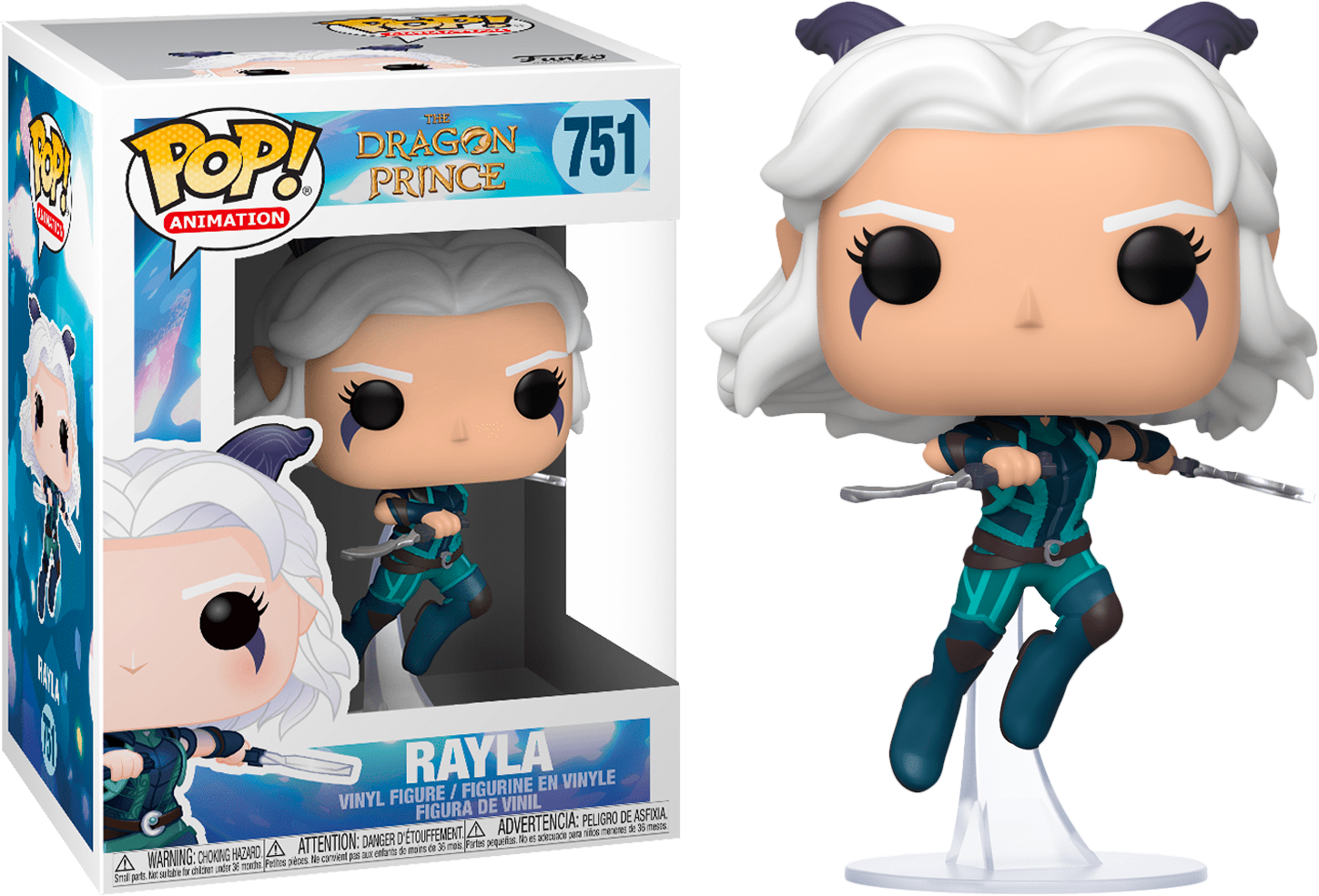 FUNKO POP RAYLA #751 THE DRAGON PRINCE ANIMATION