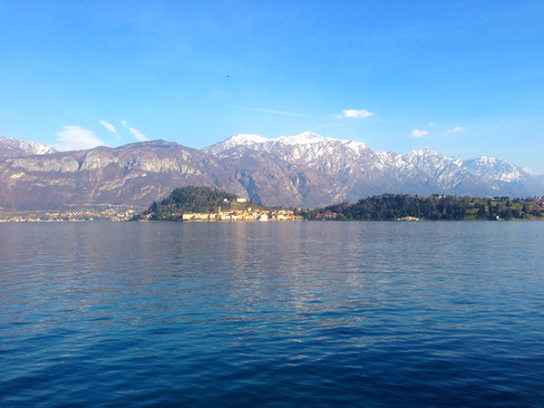 Bellagio by Bicycle, riding in Lake Como