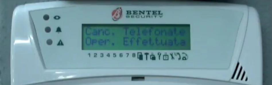Cancellare telefonate dalla centrale di antifurto Tastiera LCD Bentel Kyo - YouTpng