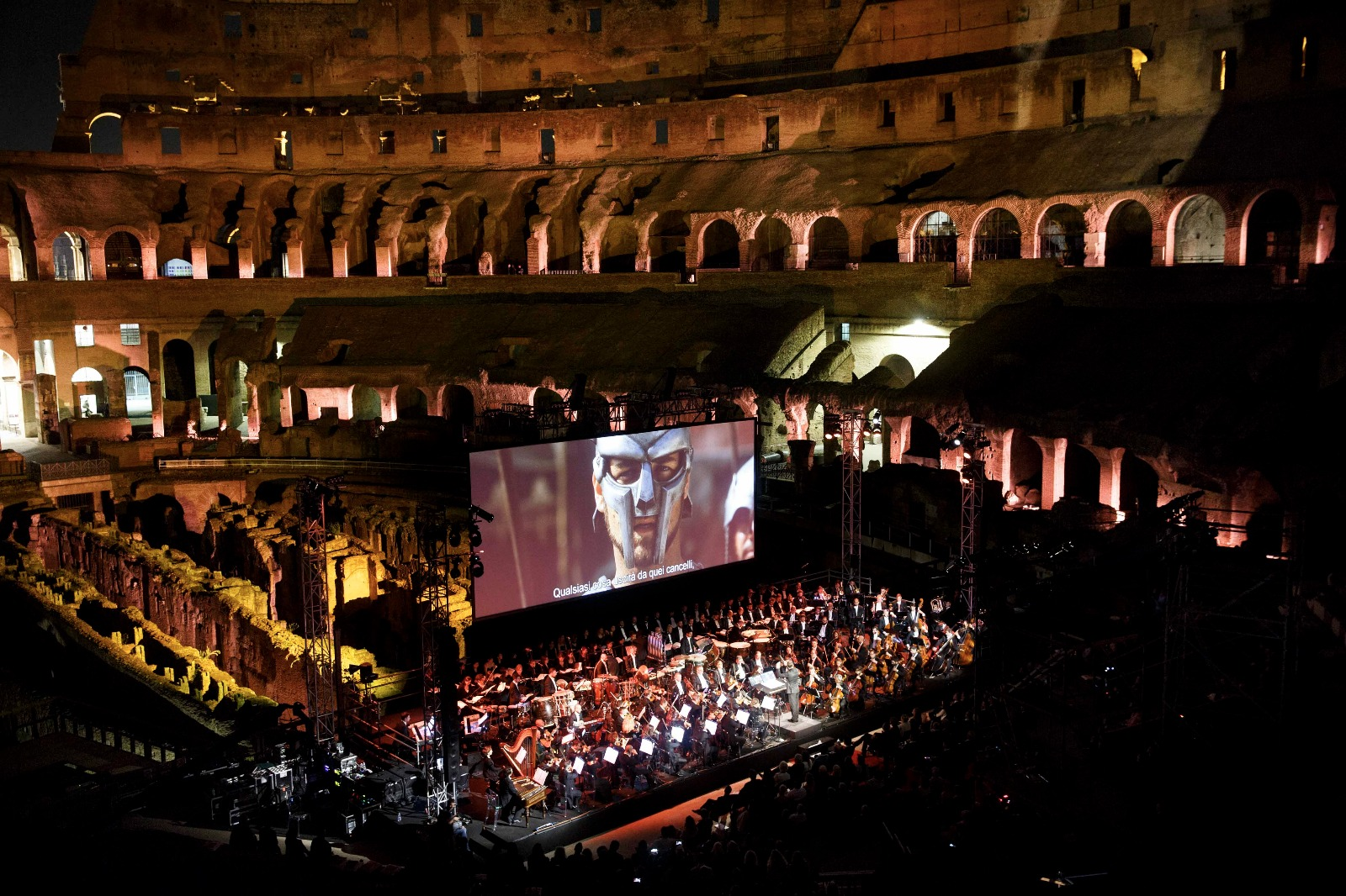Vigilia, all'Auditorium di Roma l'Orchestra italiana del Cinema