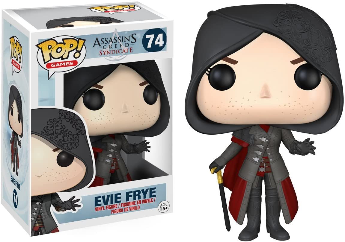 FUNKO POP EVIE FRYE #74    ASSASSIN'S CREED