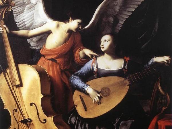 carlo saraceni santa cecilia e langelo 1610 roma galleria nazionale di arte anticajpg