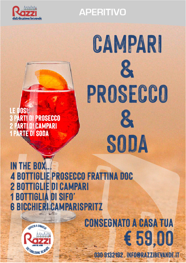 Kit Campari & Prosecco & Soda