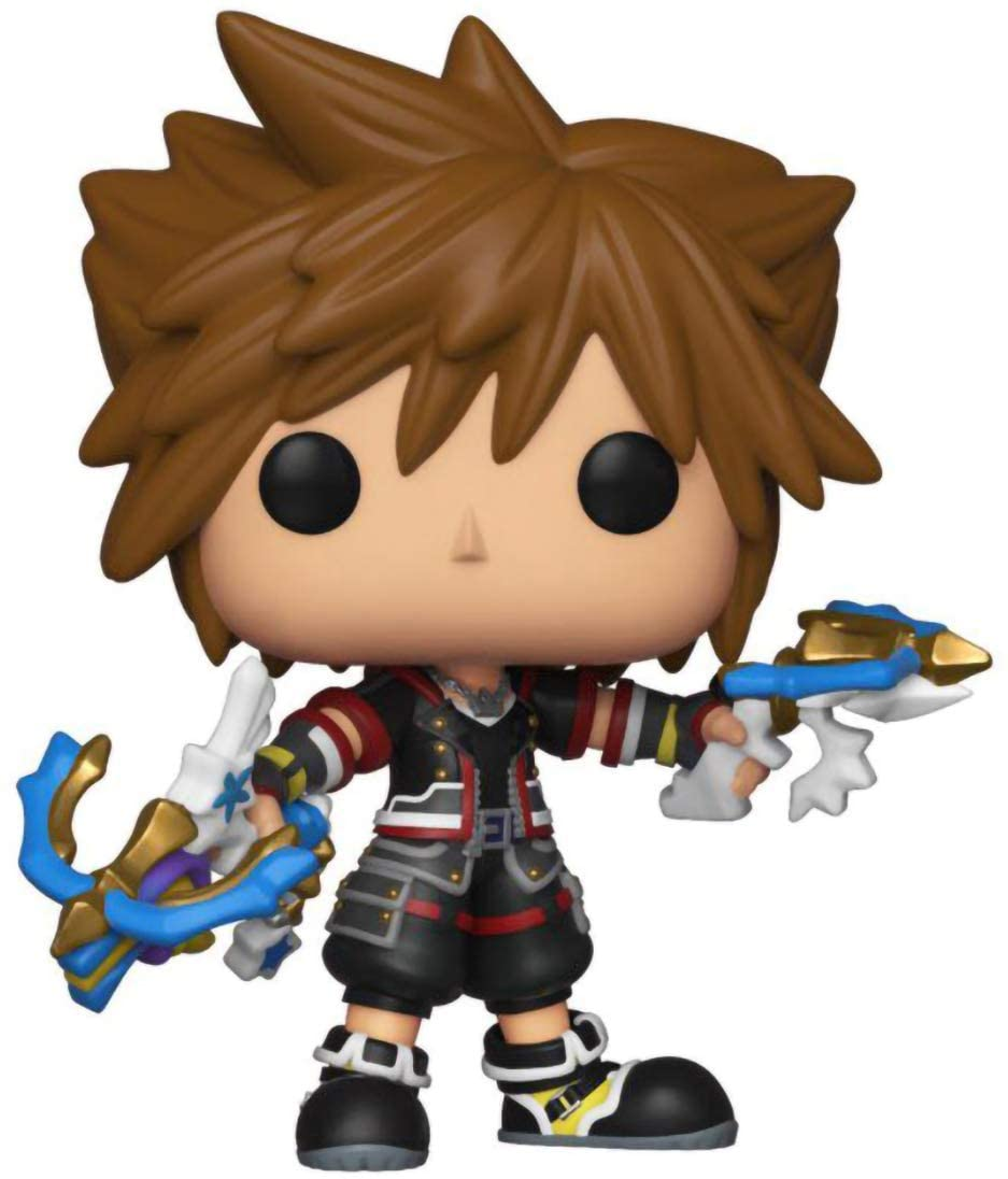 FUNKO POP SORA (DUAL BLASTERS) #492 SPECIAL EDITION KINGDOM HEARTS