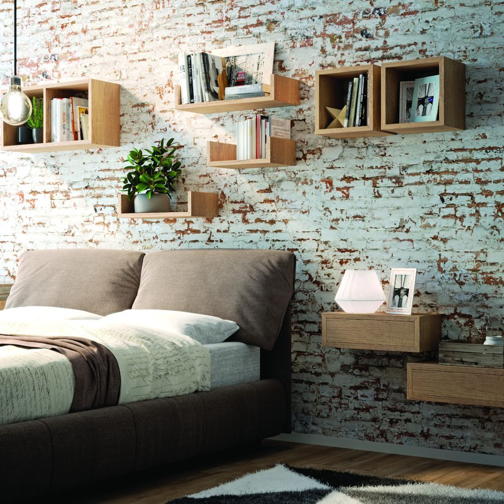 Idee-per-decorare-una-parete-con-le-mensole-cubo-box-legno-leroy-merlinJPG