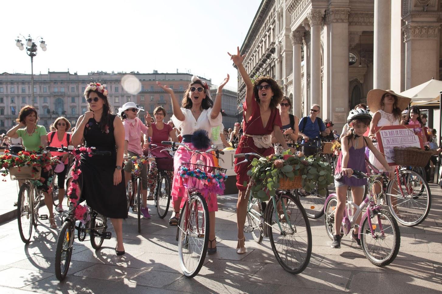 Fancy Women Bike Ride_photocredit Niloofar Yaminijpg