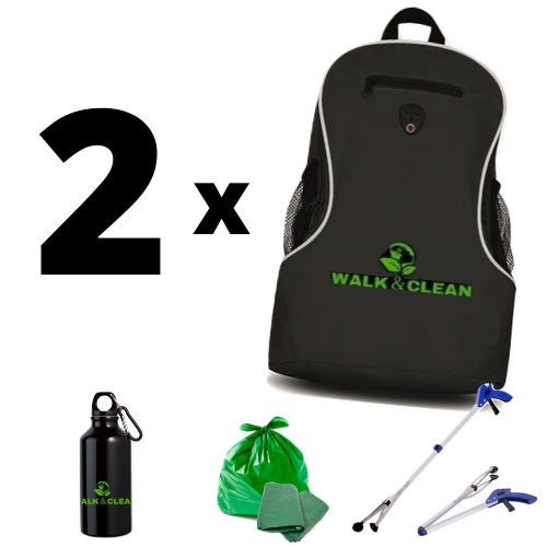 2 Kit Walk & Clean - sconto / discount 5%