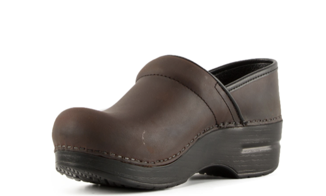 SALDI -30% Professional Antique Brown Oiled DANSKO