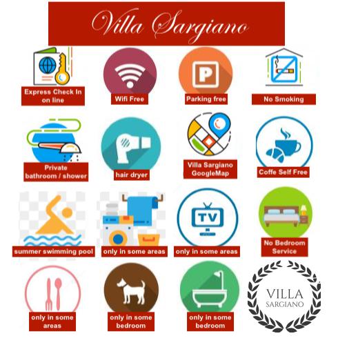 SIMBOLI VILLA SARGIANO 2 e Camere Virtualipng