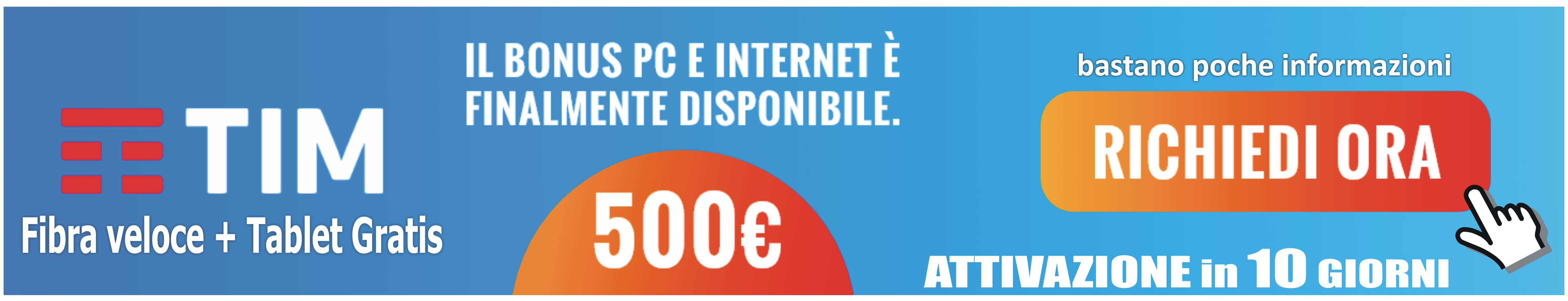 Tim bonus pc e internet