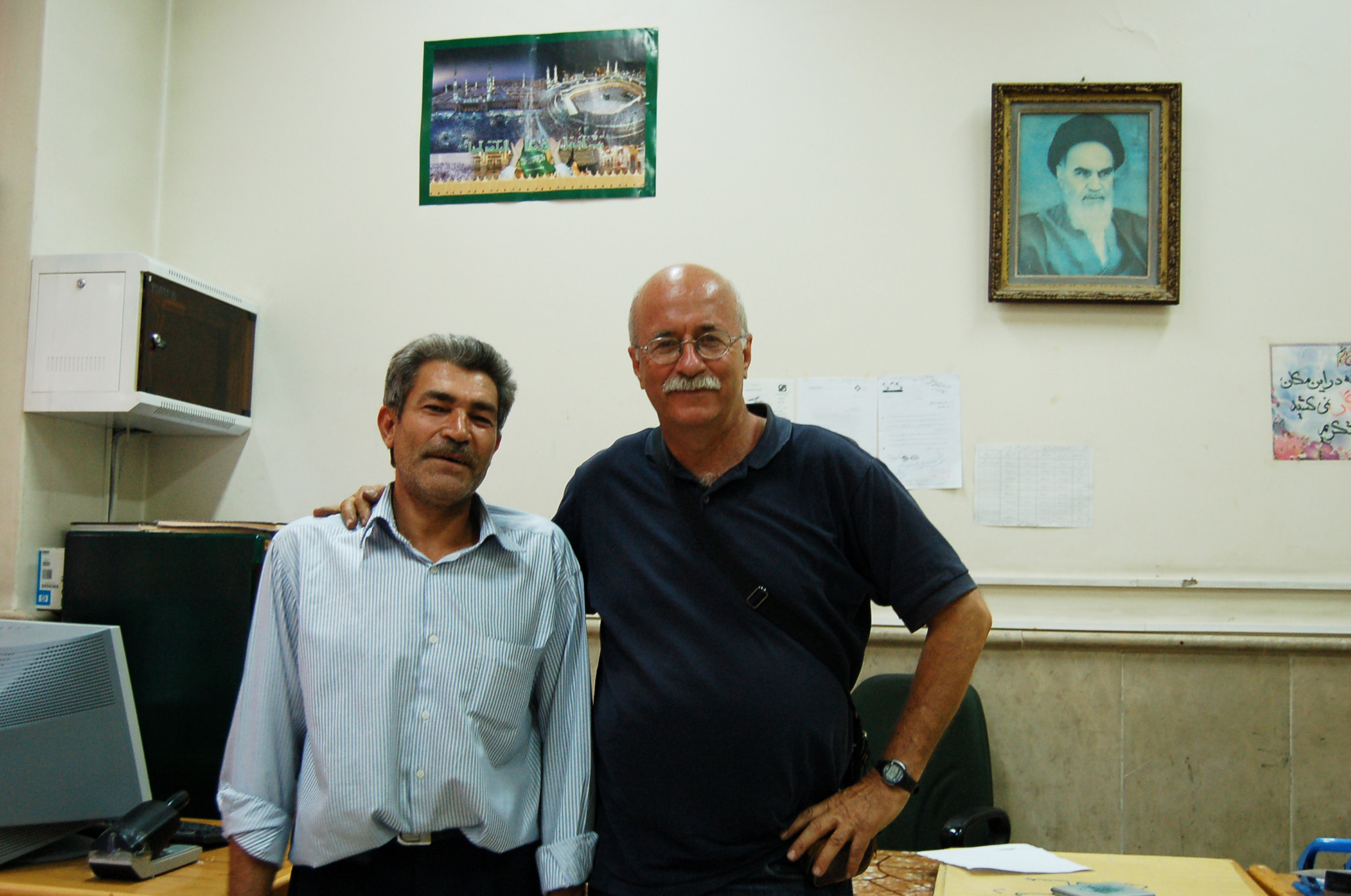 Frontiera iraniana insieme a Mr Suleimanjpg