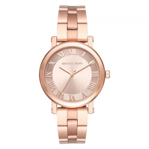 Michael Kors Norie Ladies Rose Gold Watch MK3561