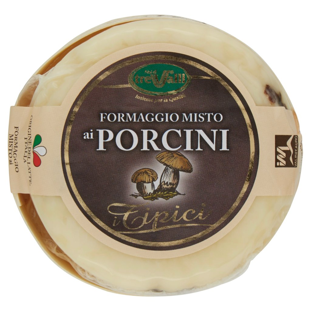 """I TIPICI"" WITH PORCINO MUSHROOMS 180GR (6.34OZ) ""Imported from Italy"""