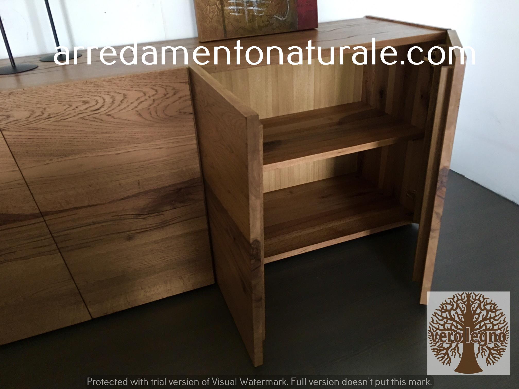 Fabbrica mobili in legno massiccio naturale for Produttori mobili veneto
