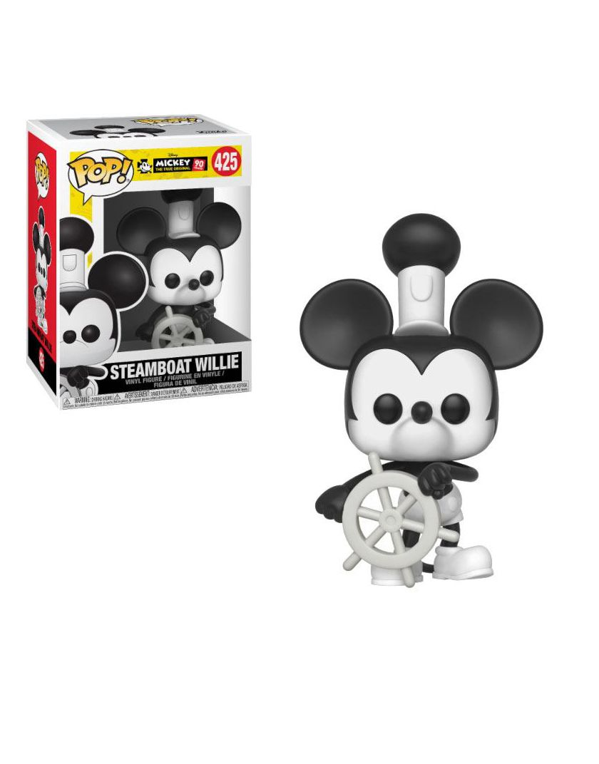 FUNKO POP STEAMBOAT WILLIE #425 MICKEY MOUSE DISNEY