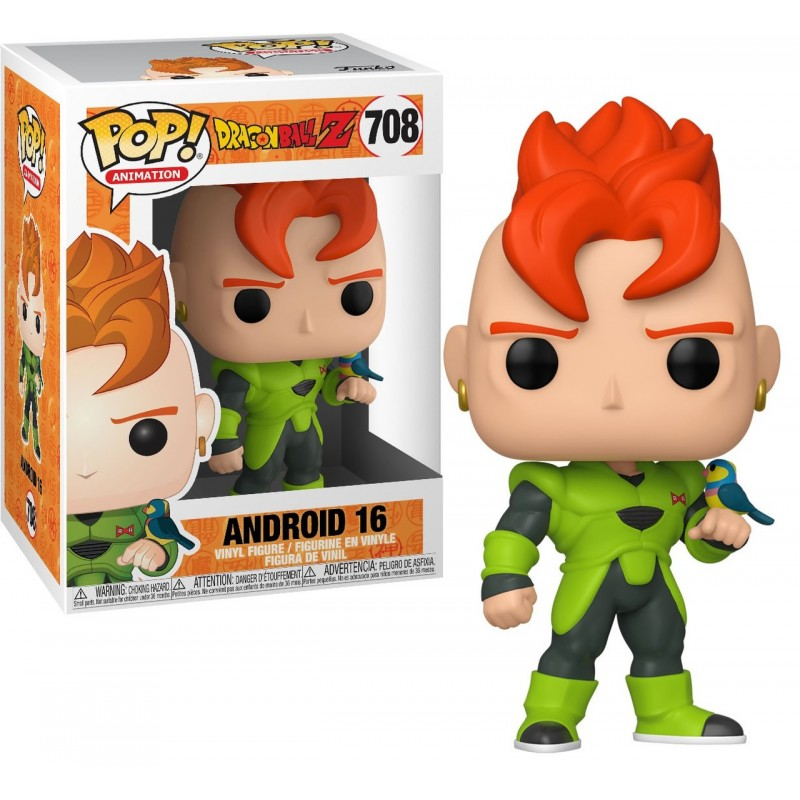 FUNKO POP ANDROID 16 #708 DRAGON BALL ANIMATION