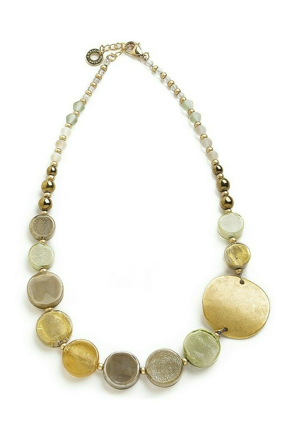Collana Antica Murrina Venezia Donna Moon Vetro Multicolor - COB27A08