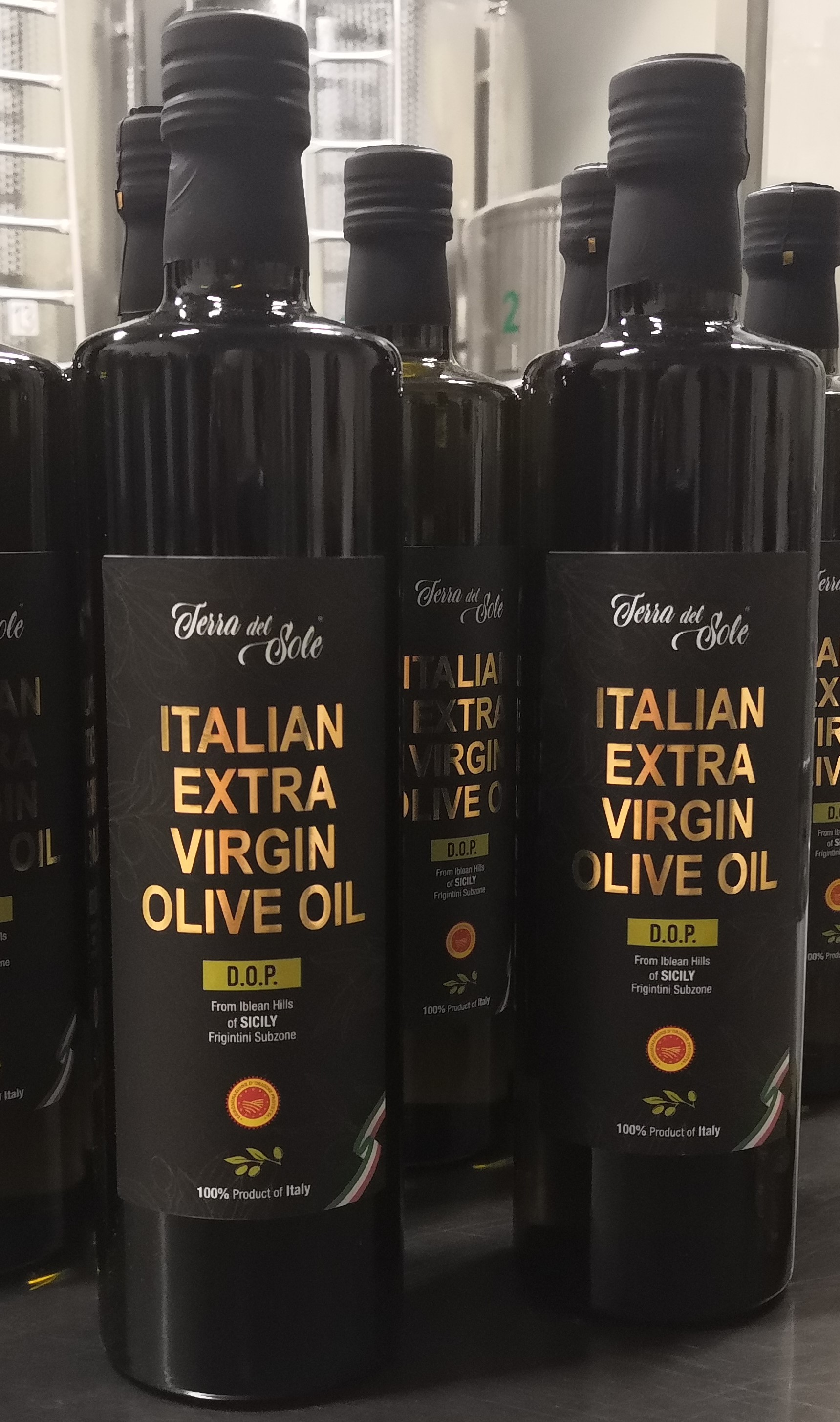 Extra Virgin Olive Oil DOP - Terra del Sole - 750 ml ( 25.36 fl oz) Imported from Italy