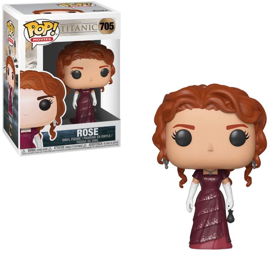 FUNKO POP ROSE #705 TITANIC KATE WINSLET MOVIES